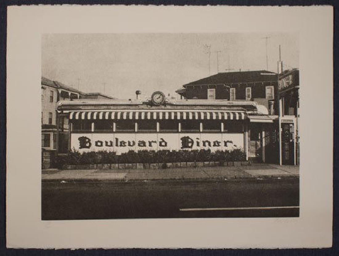 John Baeder - Boulevard Diner