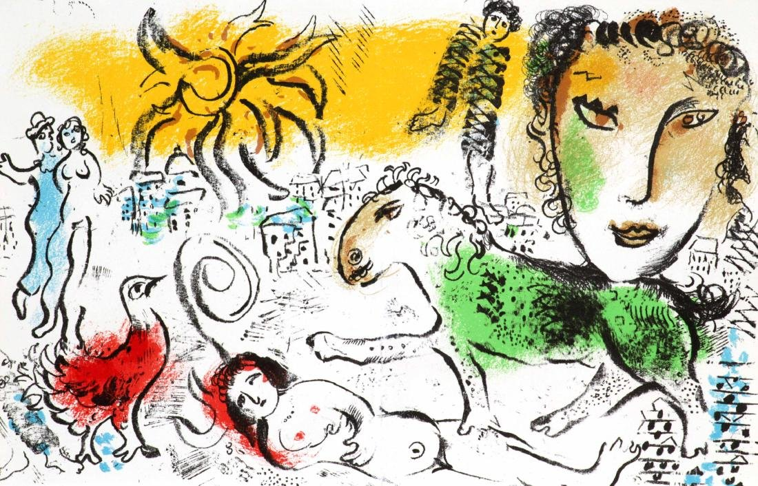 Marc Chagall - Homecoming