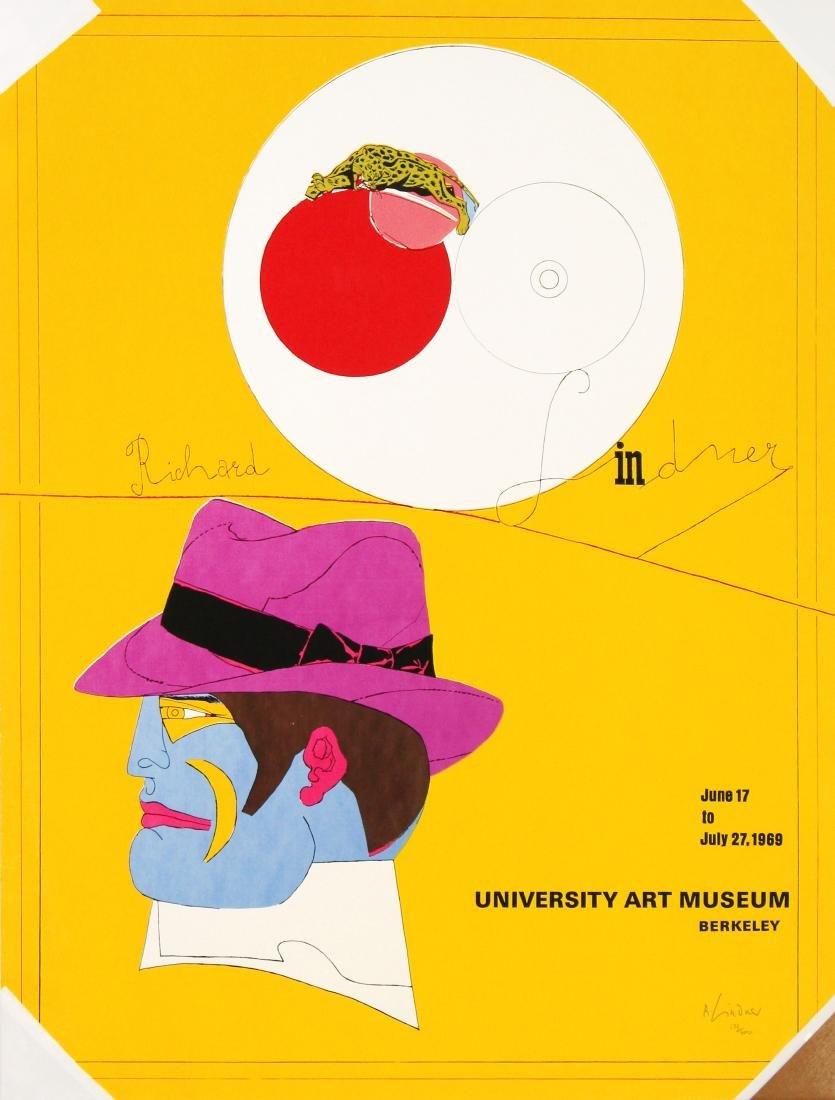 Richard Lindner - University Art Museum Berkeley Signed