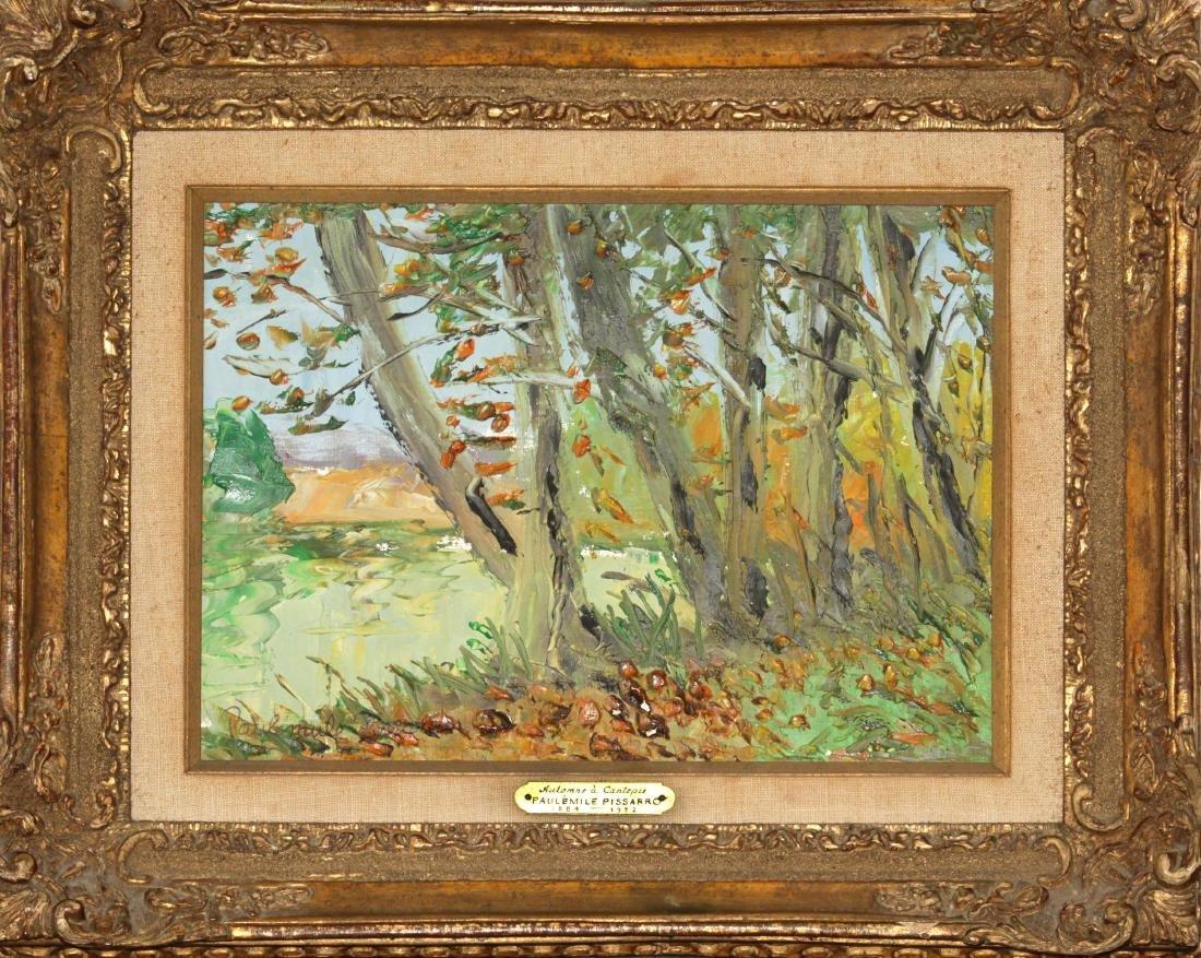 Paul-Emile Pissarro - Automne a Cantepie