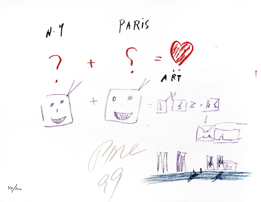 Nam June Paik - NY + Paris = Art