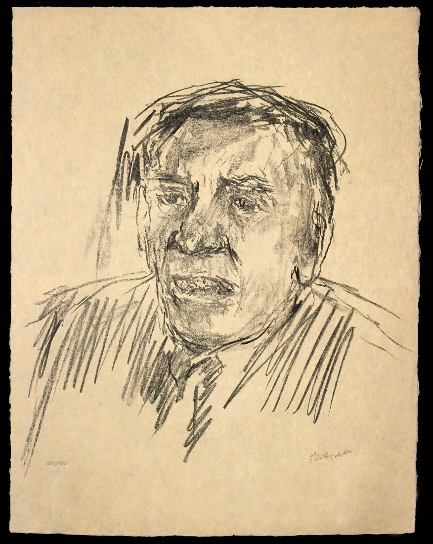 Oscar Kokoschka - Dr. Shimon Agranat. (President of the