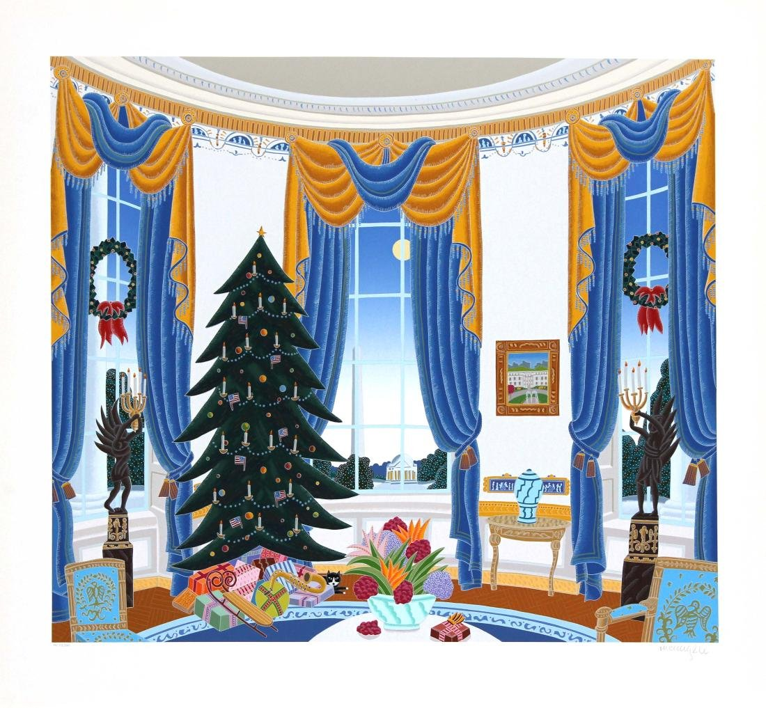 Thomas McKnight - White House Blue Room