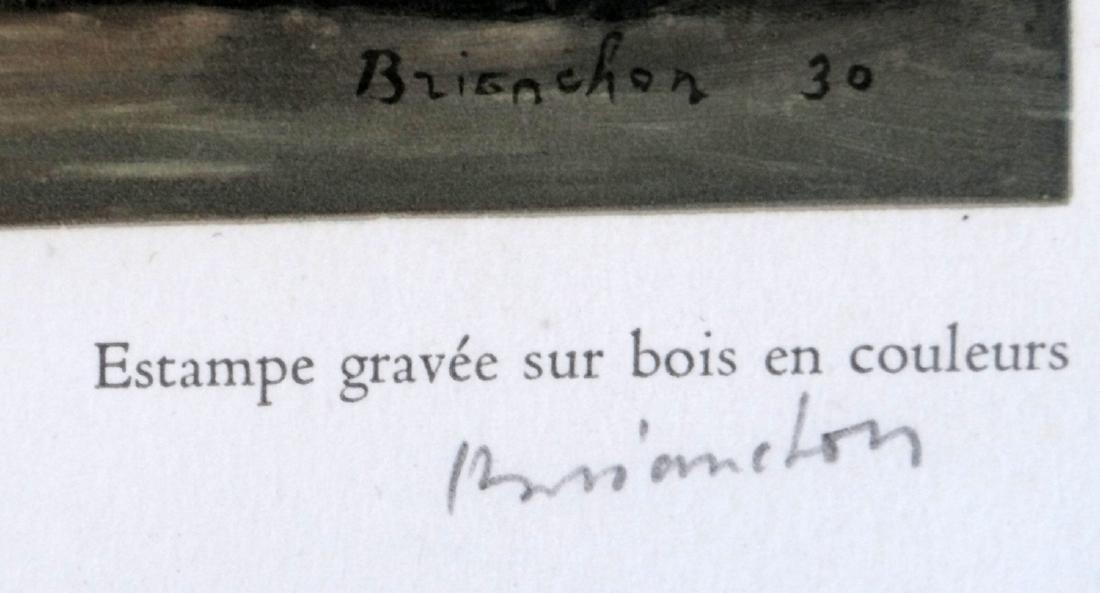 """Maurice Brianchon """"La Neige a Auteuil"""" - 2"""