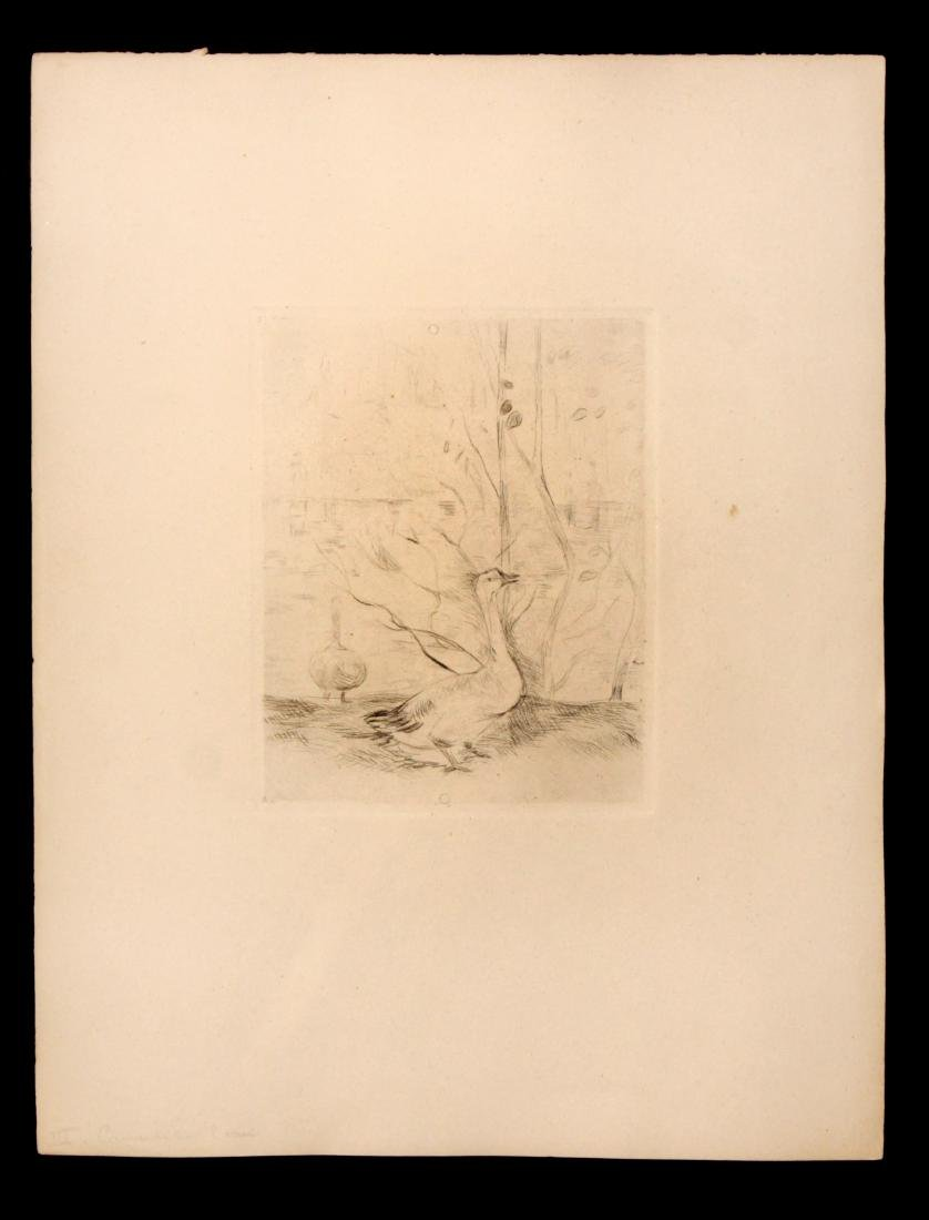 Berthe Morisot - Les Oie