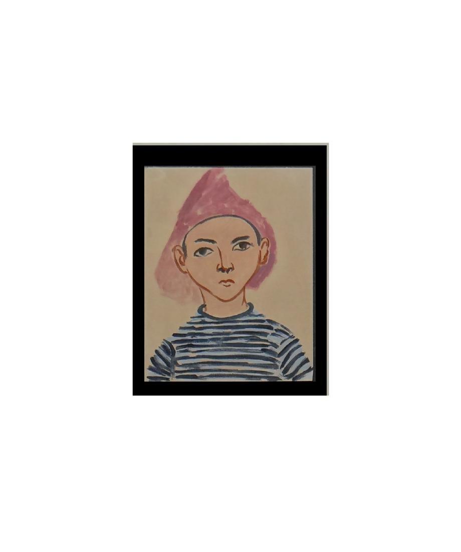"""Henri Matisse """"Pierre Matisse"""" - 2"""
