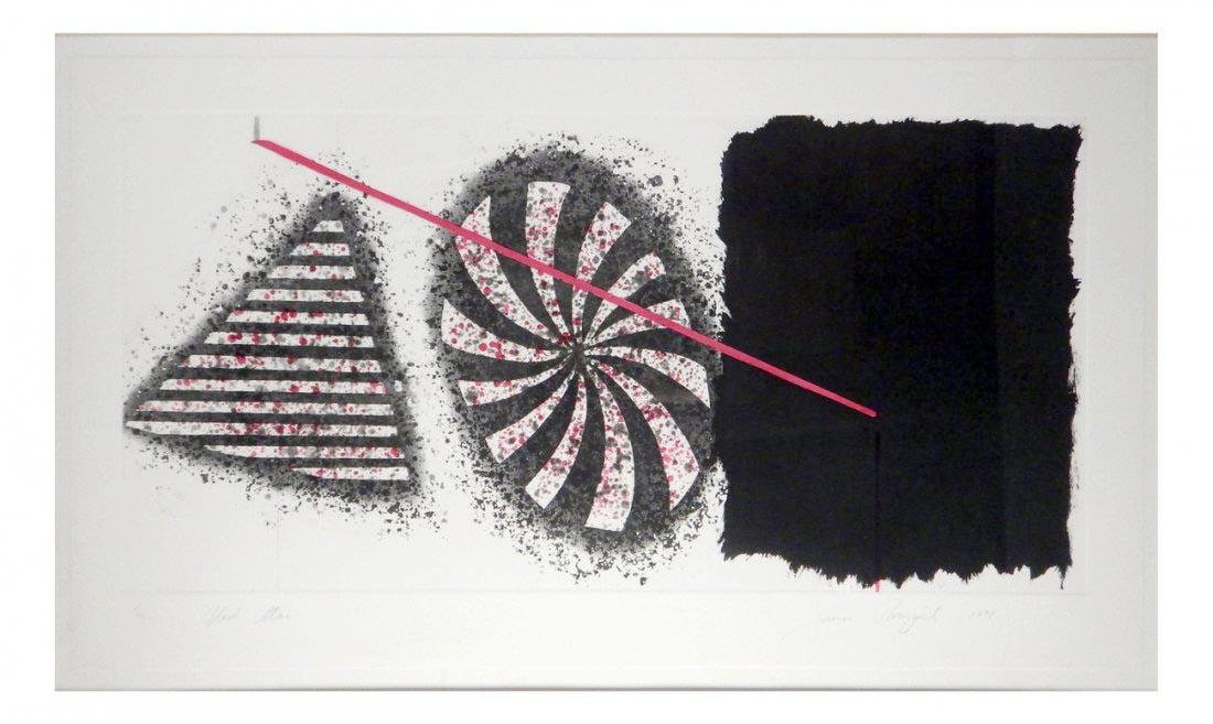 "James Rosenquist ""Black Star"""