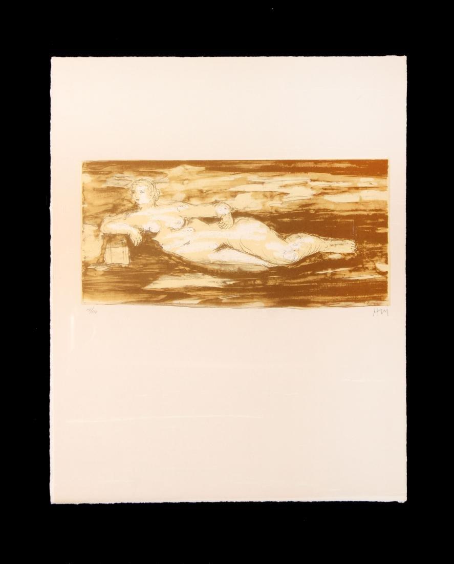 Henry Moore - Femme Allongee