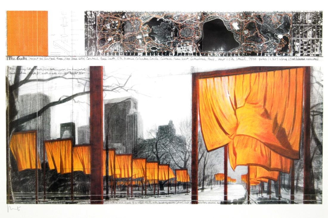 Christo - The Gates Project for Central Park New York