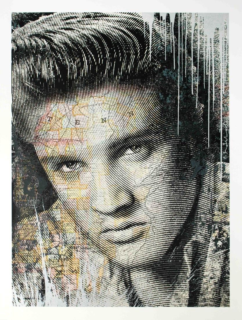 Mr. Brainwash - Elvis Presley (Silver Edition)