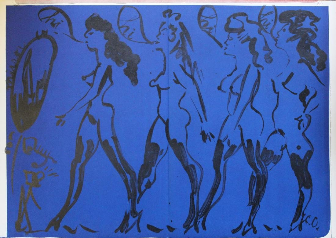 Claes Oldenburg, Nude Girls 1964, from One Cent Life