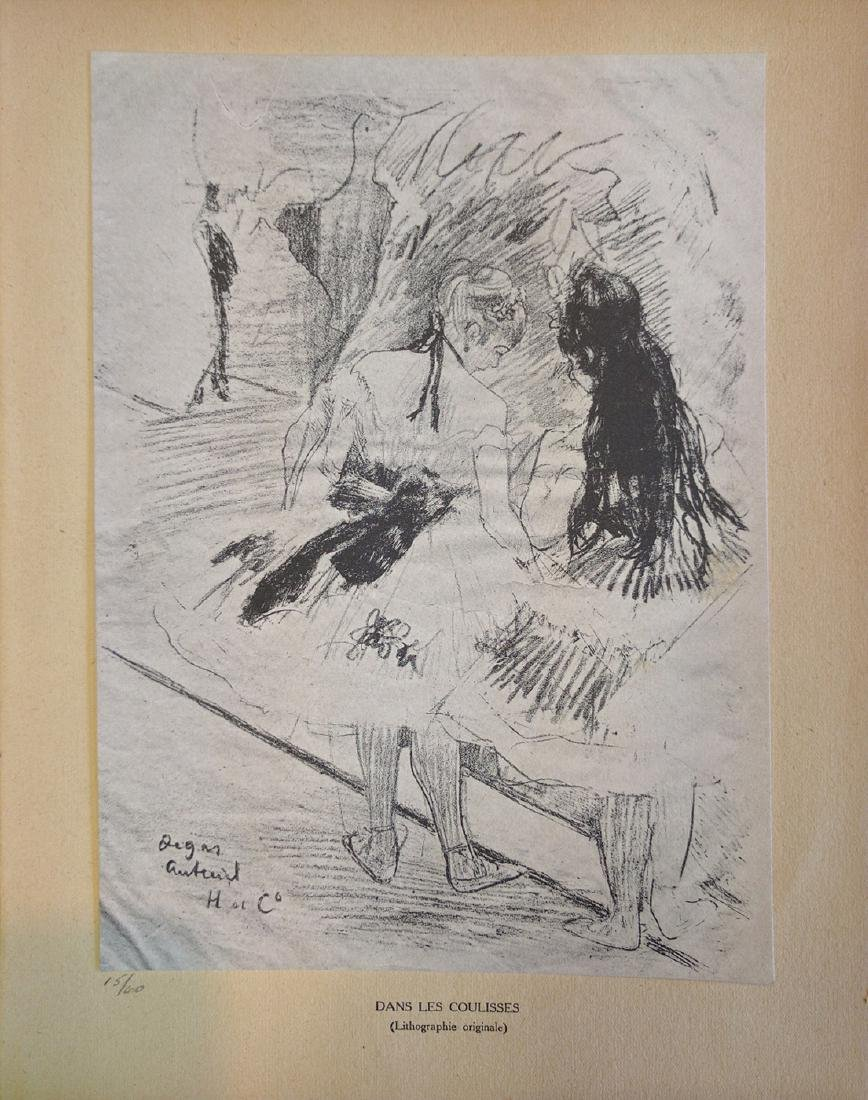 """Edgar Degas """"Dans les coulisses"""""""