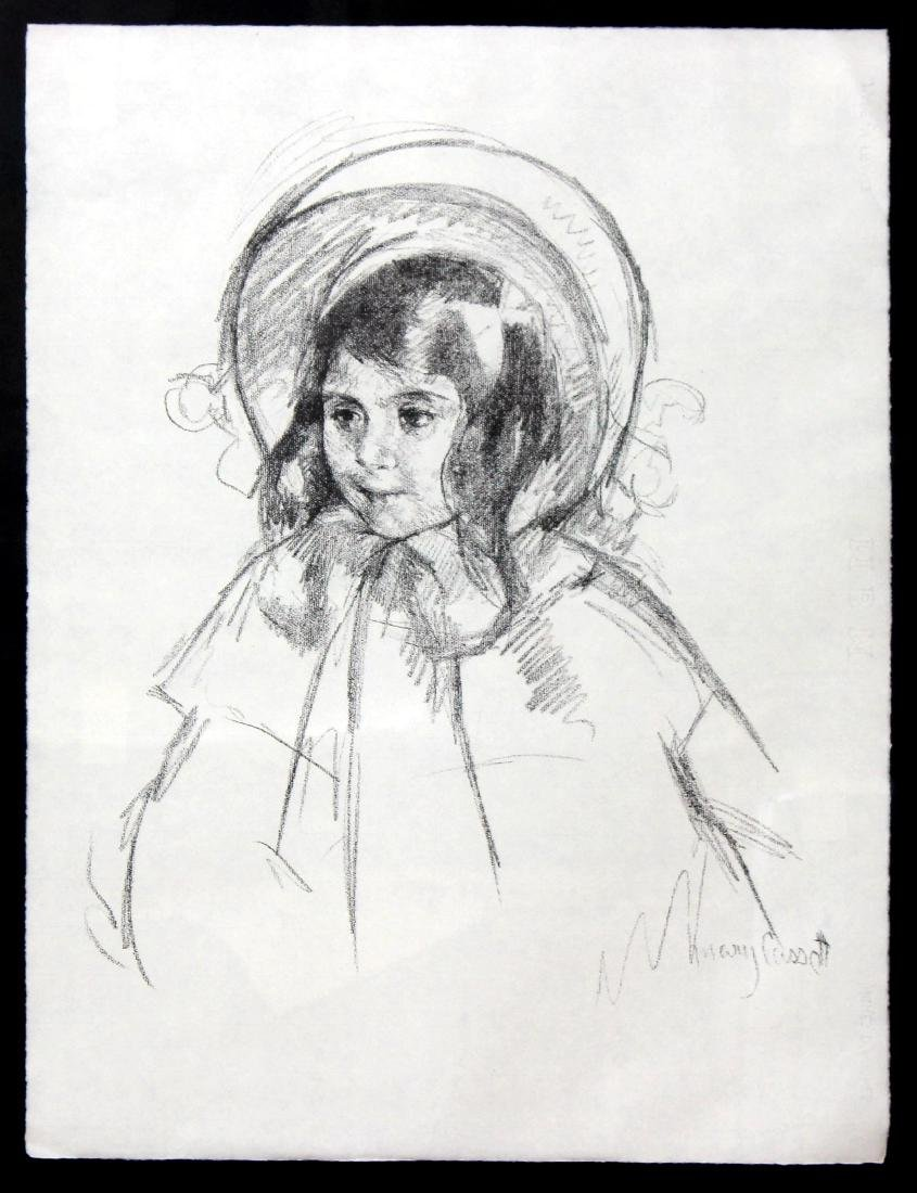 Sara Wearing her Bonnet and Coat by Mary Cassat