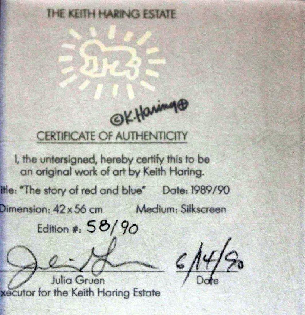 """Keith Haring """"For Max + Marie"""" - 2"""