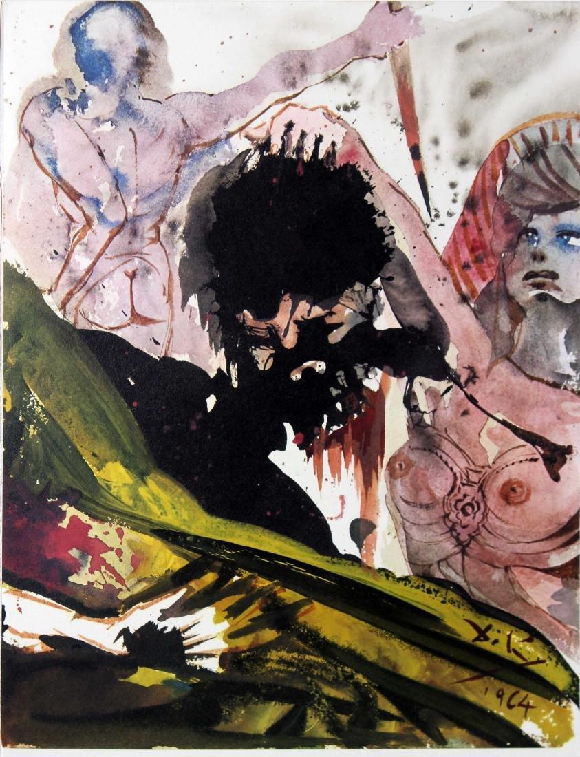 Ludith Abscidit Caput Holoferni by Salvador Dali