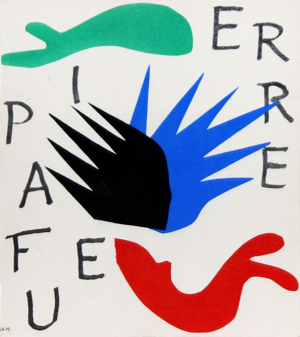 Untitled from Pierre a Feu  by Henri Matisse