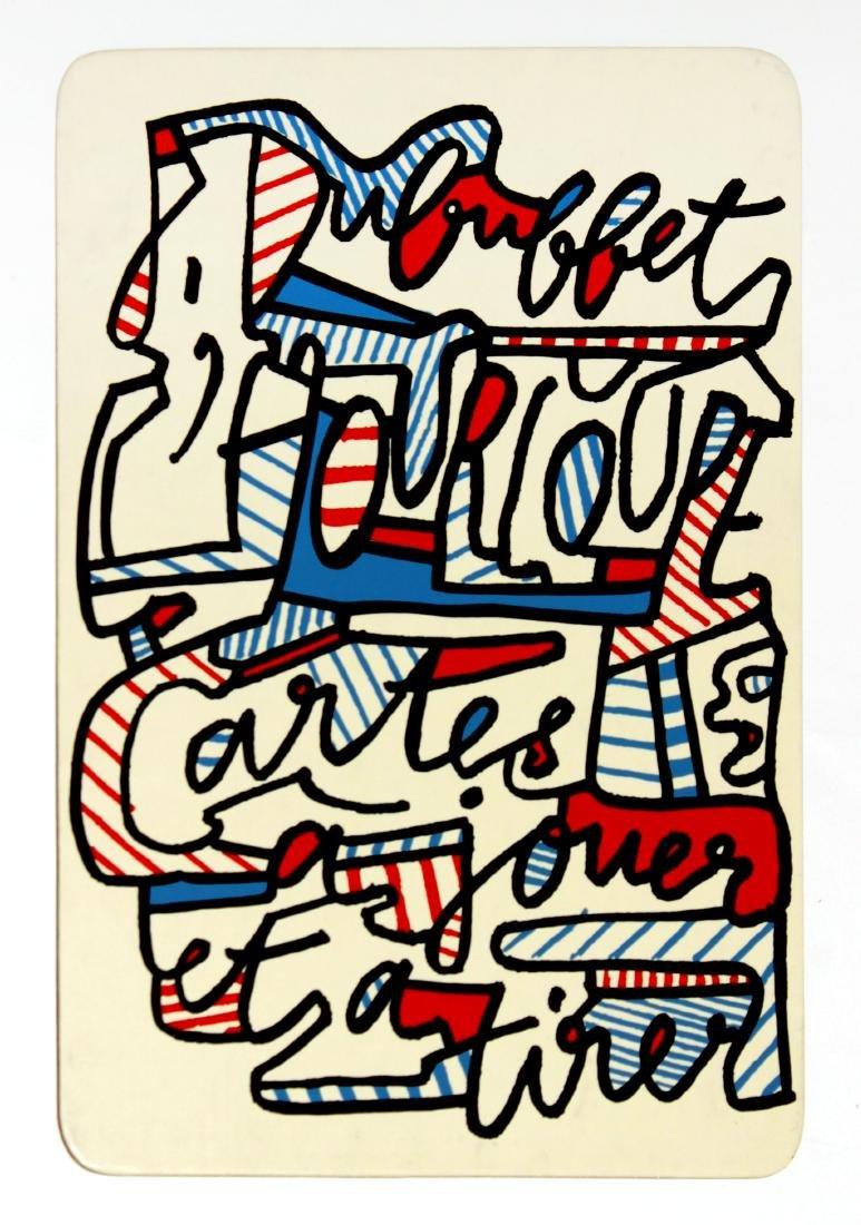 Jean Dubuffet - Banque de l'Hourloupe Title Card