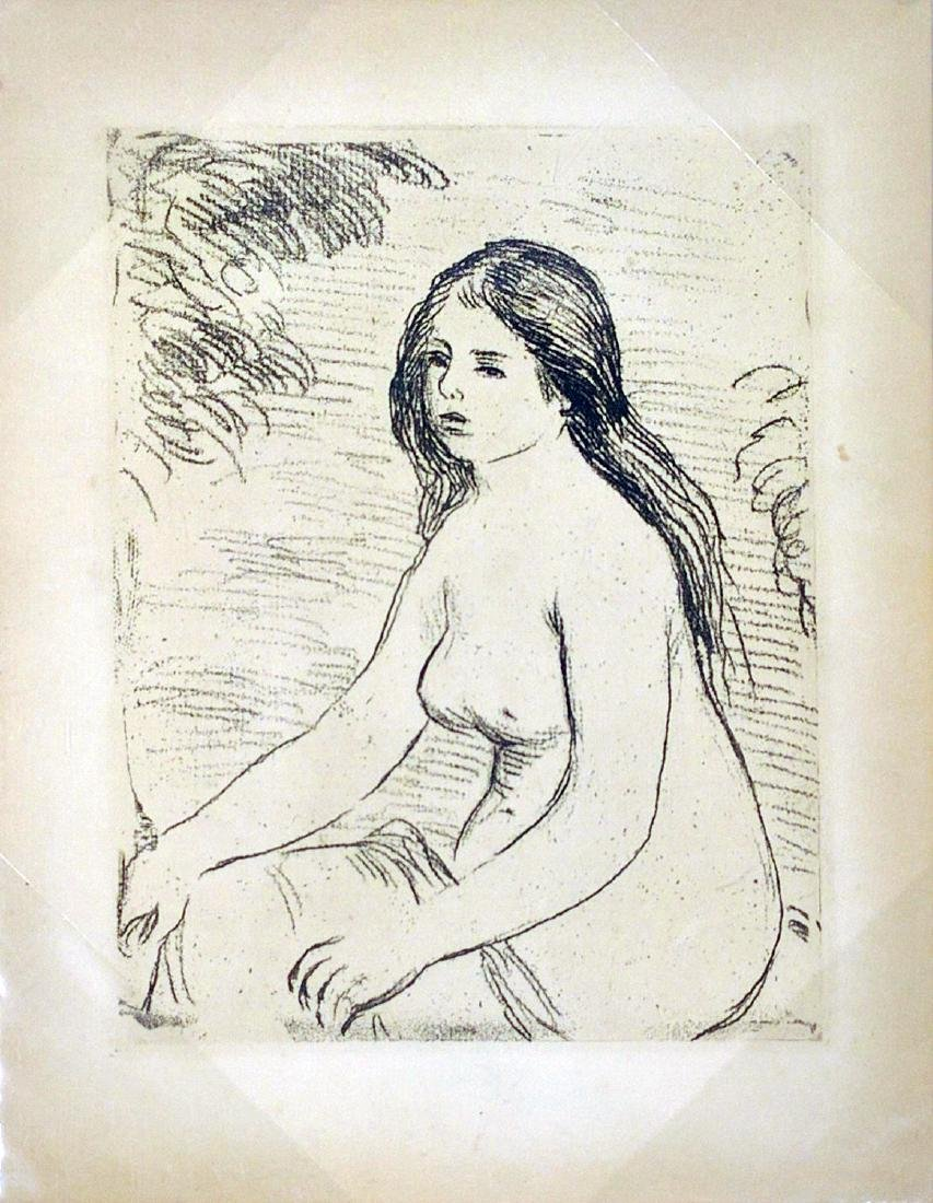 "Pierre-Auguste Renoir ""Femme Nue Assise"""