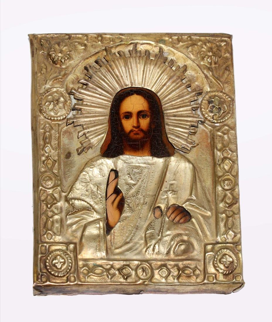 Unknown Artist - Christ Pantocrator 19th Century