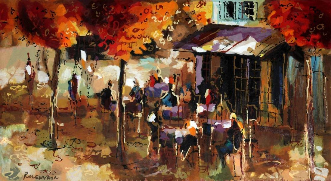 Michael Rozenvain - Streetside Cafe