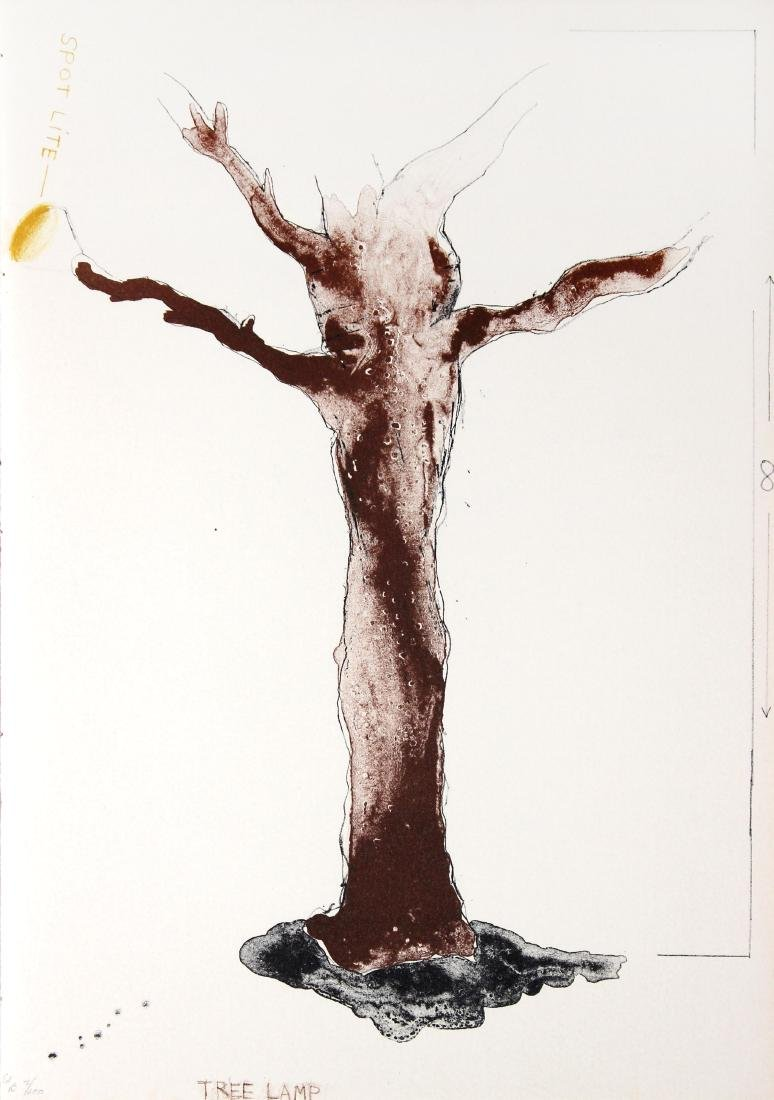 Jim Dine - Tree Lamp