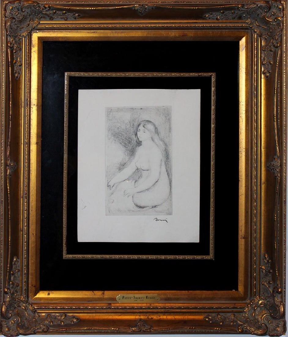 "Pierre-August Renoir ""Baigneuse Assise"""