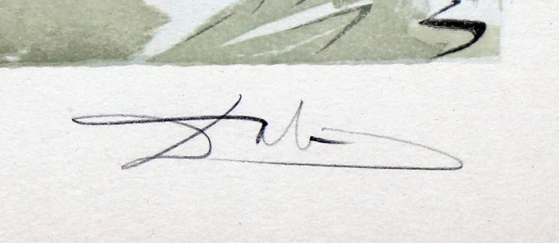 Salvador Dali - The Punishment of Vanni Fucci, Hand - 2