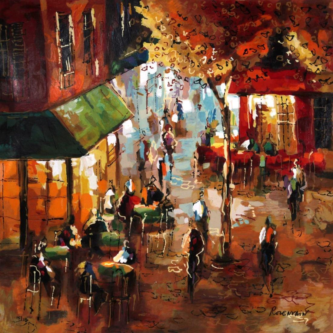 Michael Rozenvain - Parisian Cafe