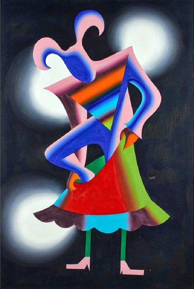 "Mark Kostabi ""Dress for Success"""