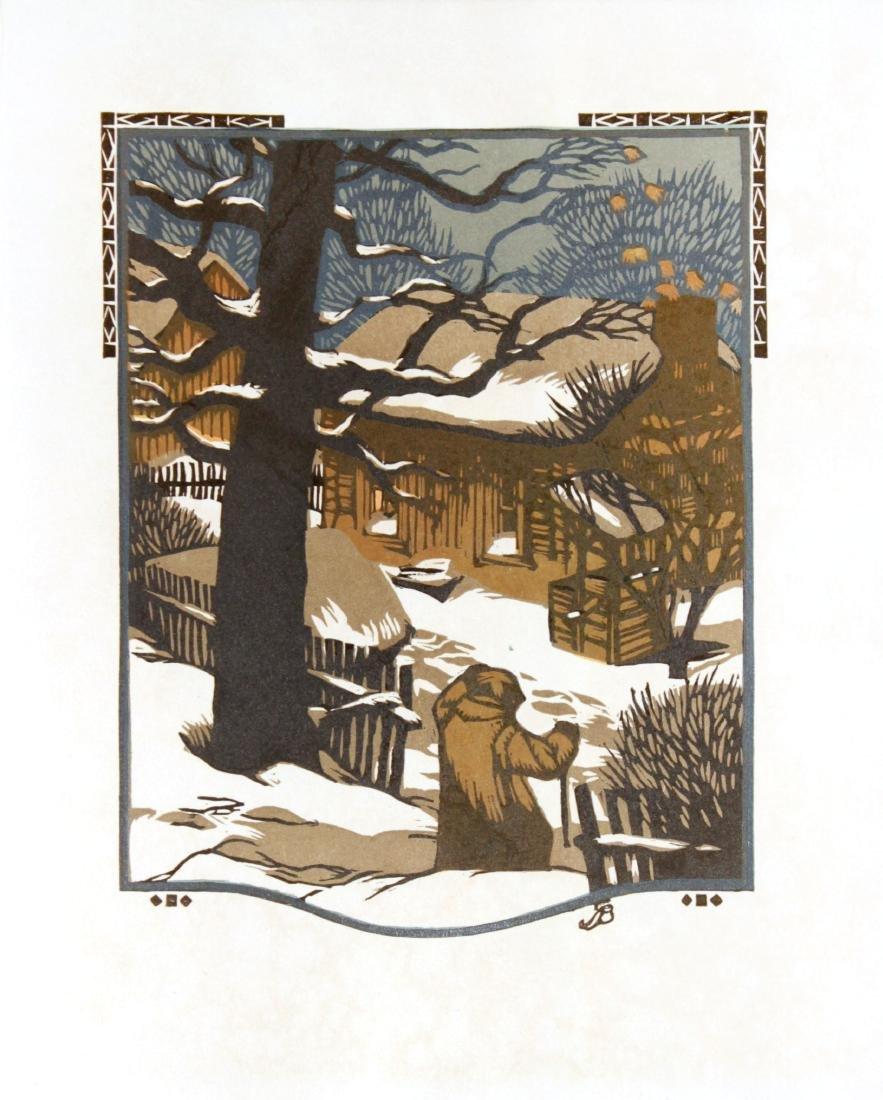 Gustave Baumann - January