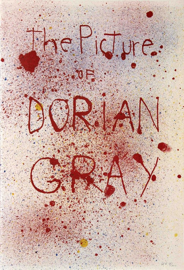 Jim Dine - The Picture of Dorian Gray Cover Page