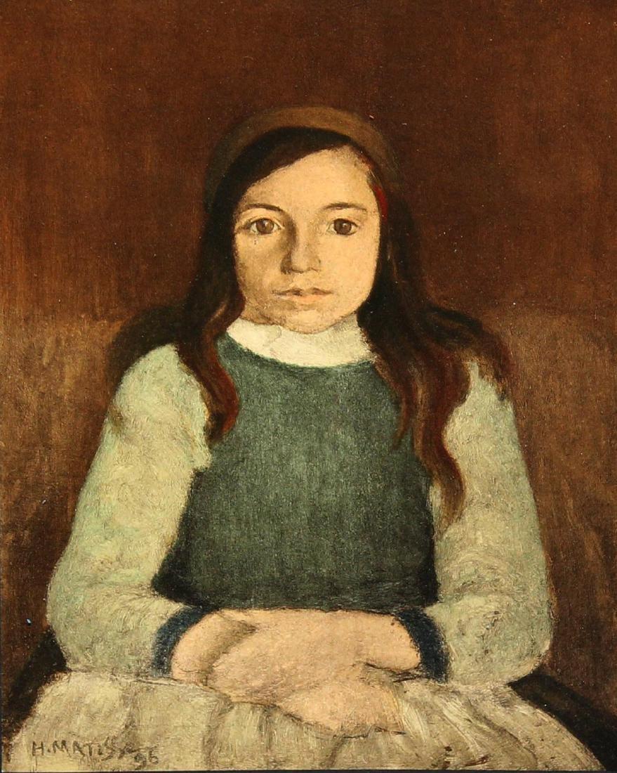 "Henri Matisse (After) ""Nini Betron"" - 2"