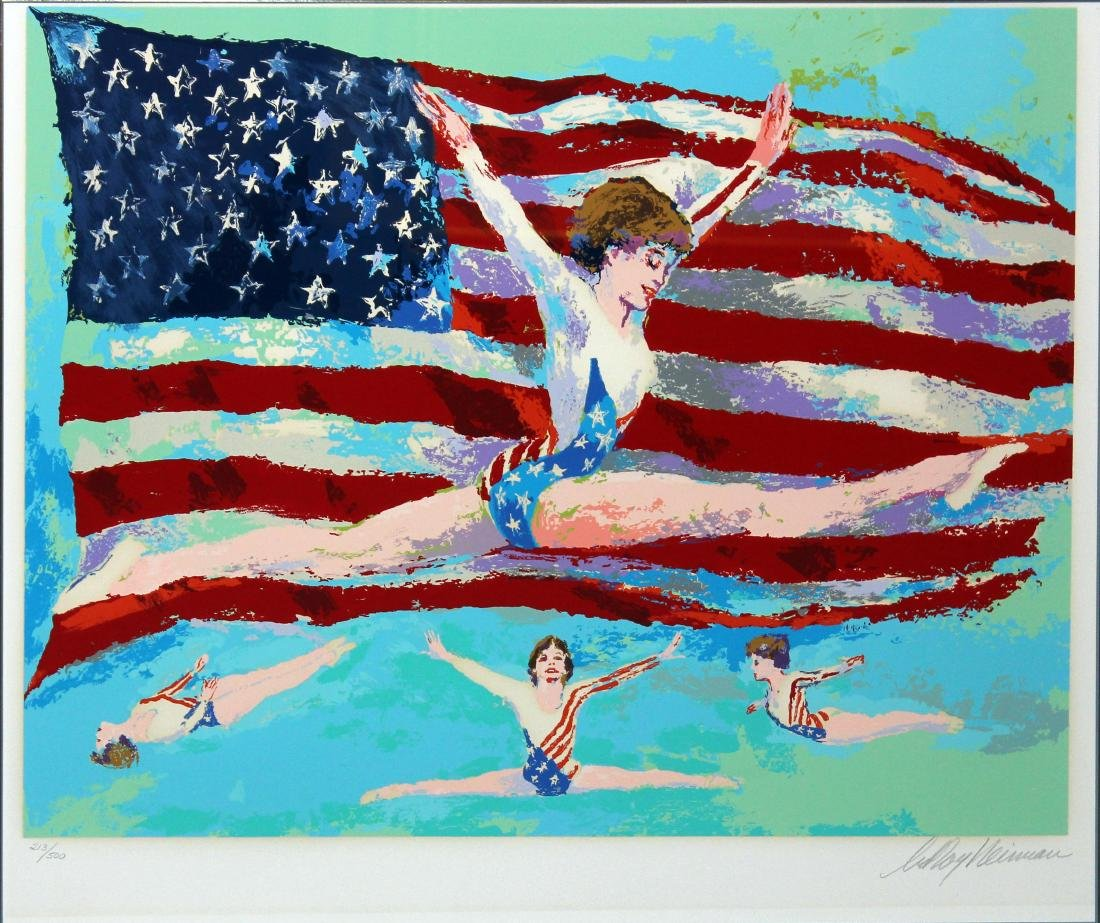 "LeRoy Neiman ""Golden Girl"""