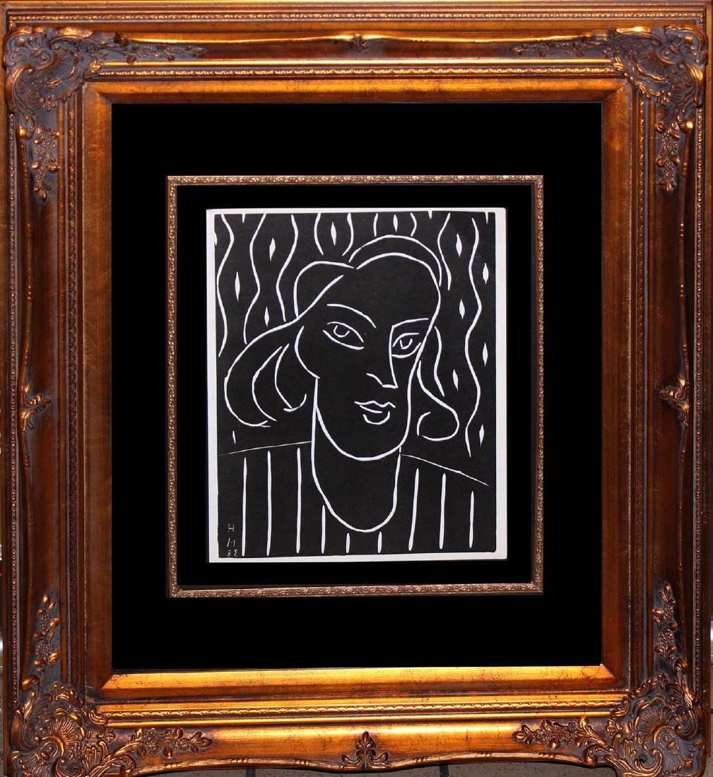 "Henri Matisse ""Portrait of a Woman"""