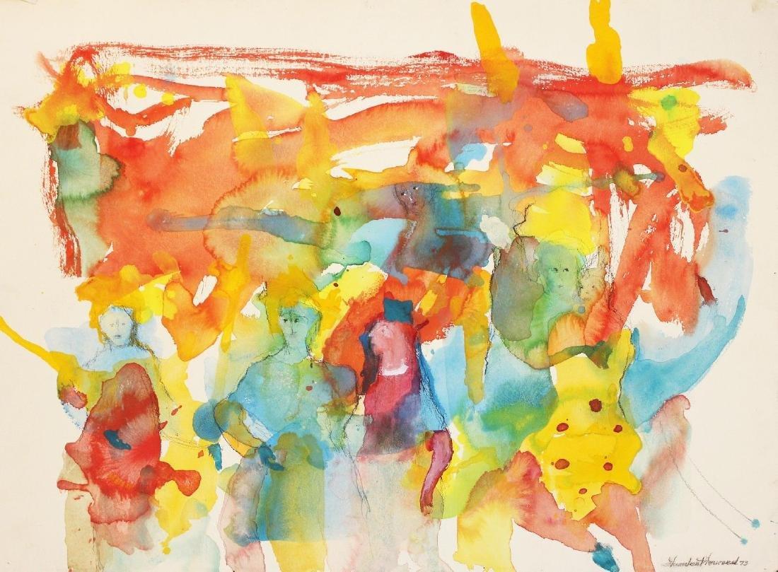 Humbert Howard Original Watercolor