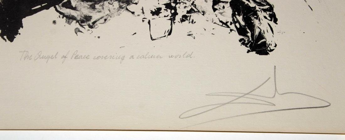 Salvador Dali - Angel of mercy Covering a Calmer World - 2