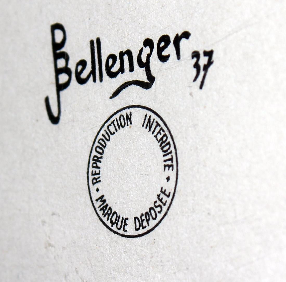 Bellenger, Vintage motorcycle poster - 2