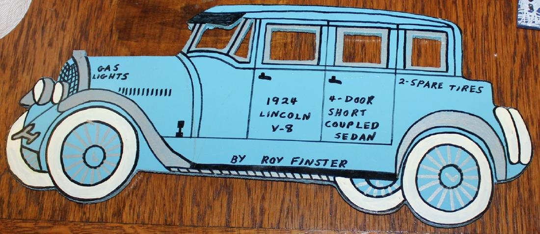 "Roy Finster ""1924 Lincoln"""