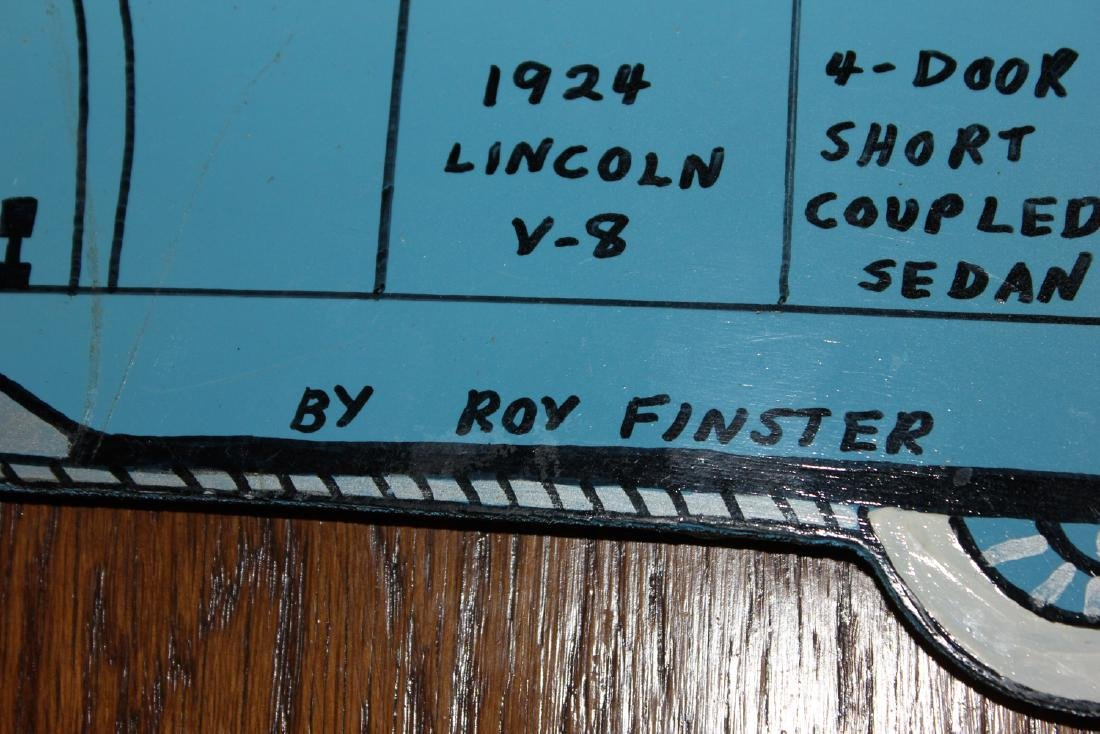 """Roy Finster """"1924 Lincoln"""" - 2"""
