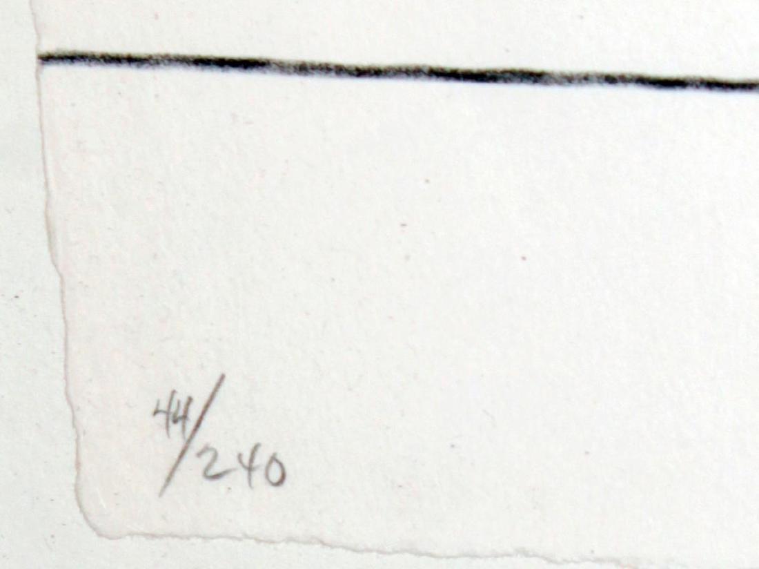 Jasper Johns - Bent Blue - 3