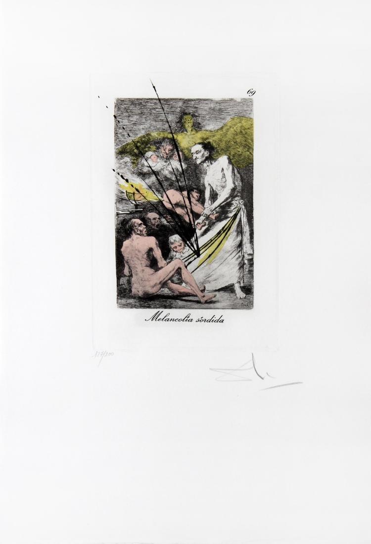 Salvador Dali - Melancolia sordida