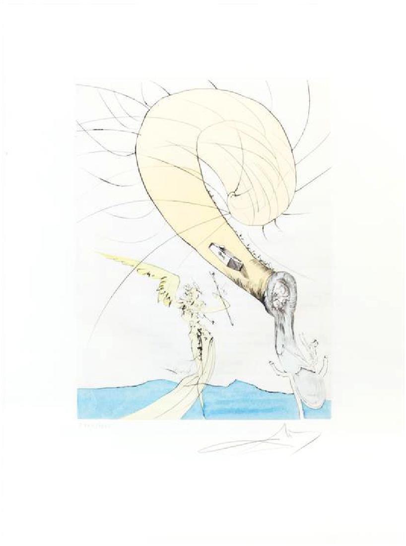 "Salvador Dali ""Freud a tete d'escargot (from After 50"