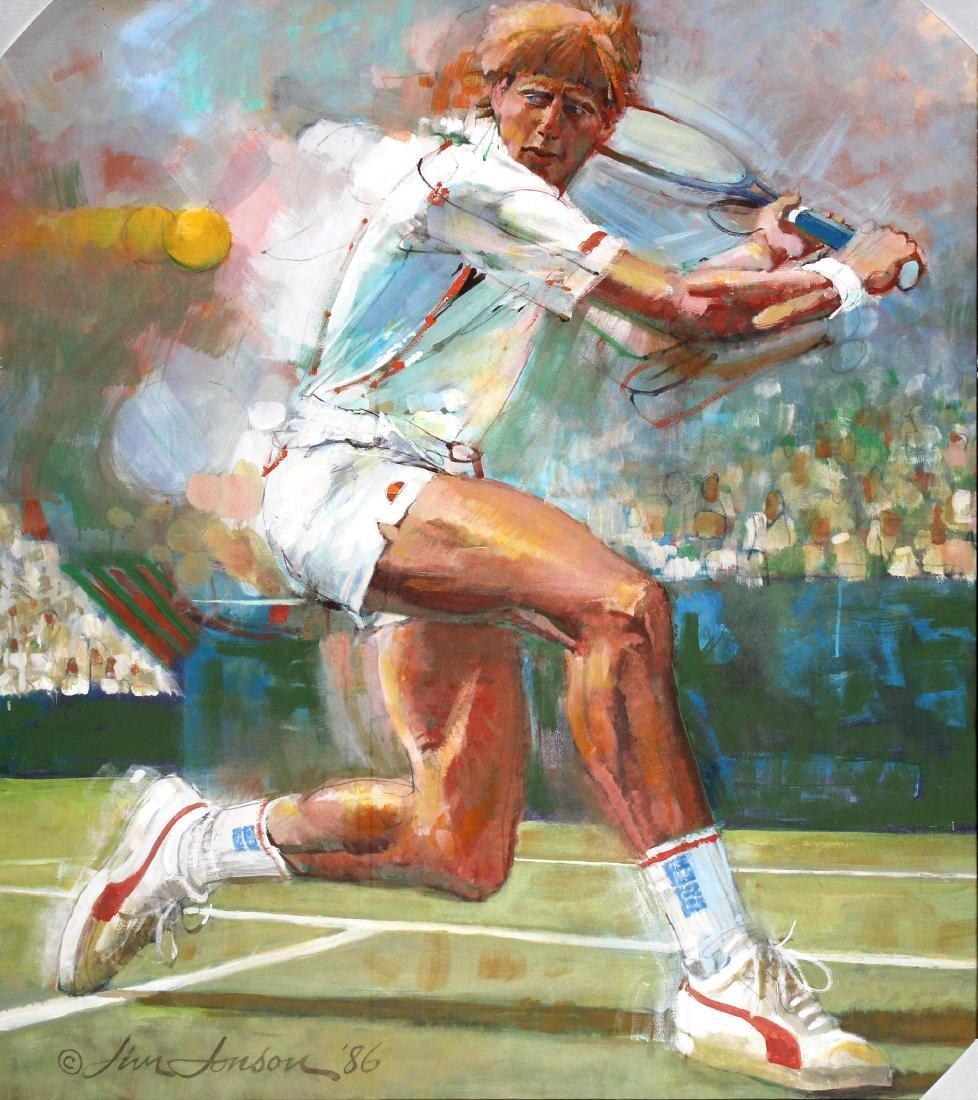 "Jim Jonson ""Boris Becker"""