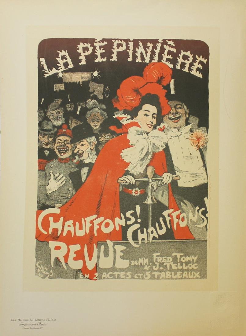 "Jules-Alexandre Grun ""Chauffons! Chauffons!"" vintage"