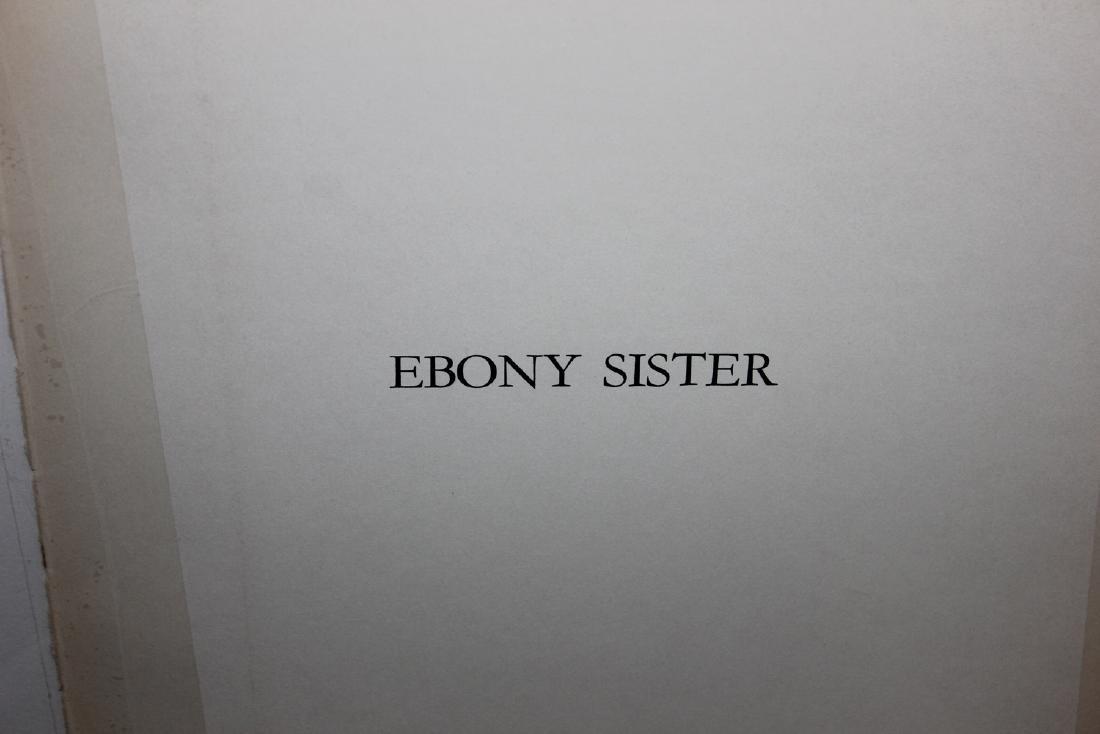 """Al Hirschfeld """"Ebony Sister,"""" from """"Harlem"""" Portfolio - 2"""