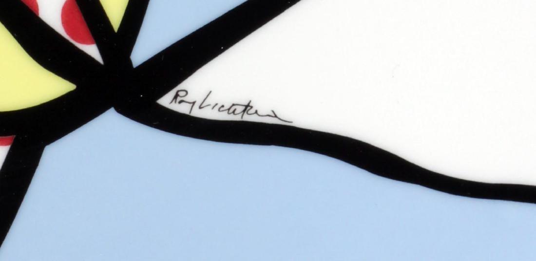 Roy Lichtenstein - Water Lillies Porcelain Plate - 2