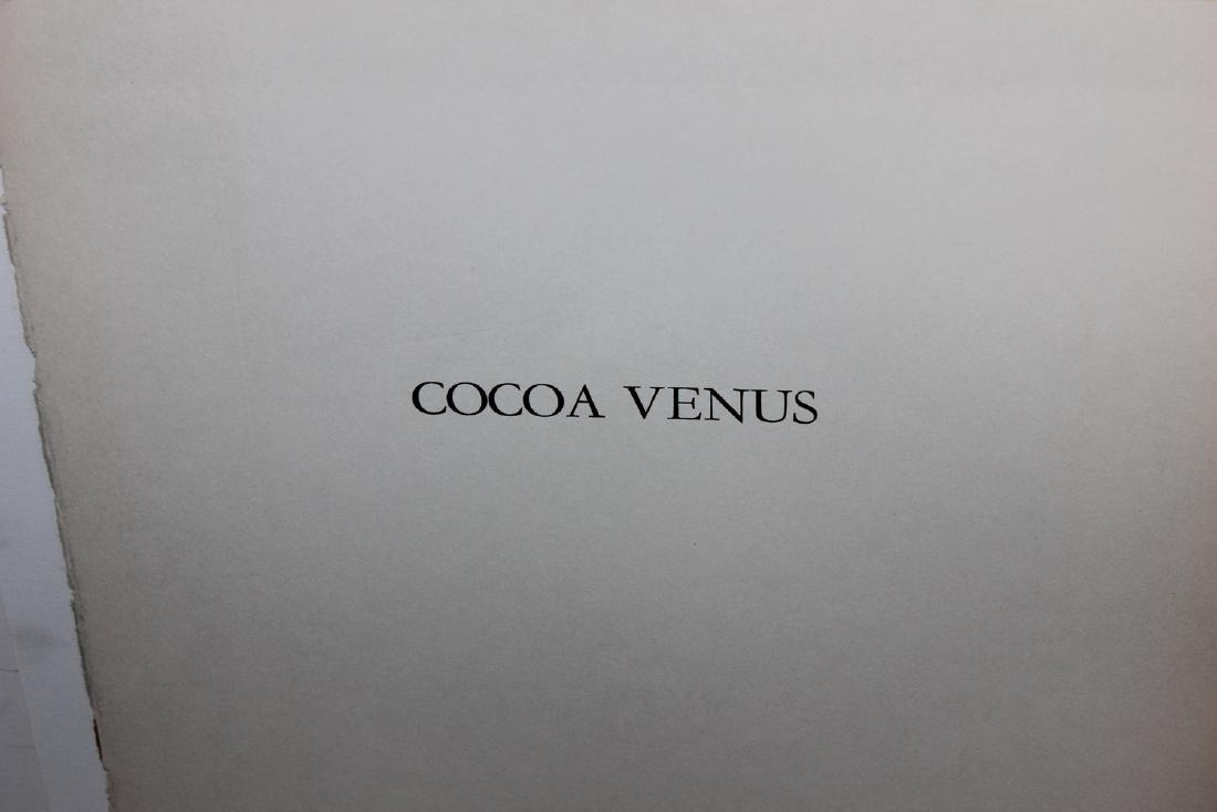 "Al Hirschfeld ""Cocoa Venus,"" from ""Harlem"" Portfolio - 3"