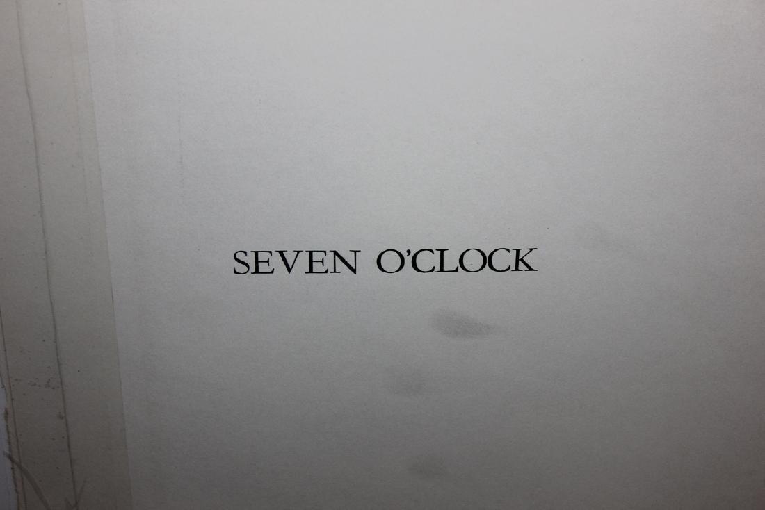 "Al Hirschfeld ""Seven O'Clock,"" from ""Harlem"" Portfolio - 3"