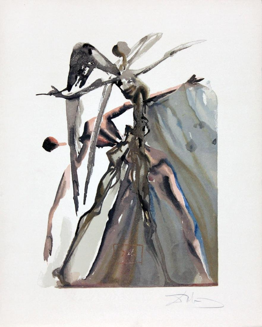 The Powers of Soul by Salvador Dali