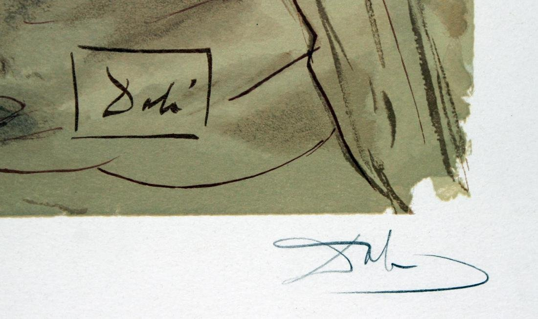 Dante's Repentance by Salvador Dali - 2
